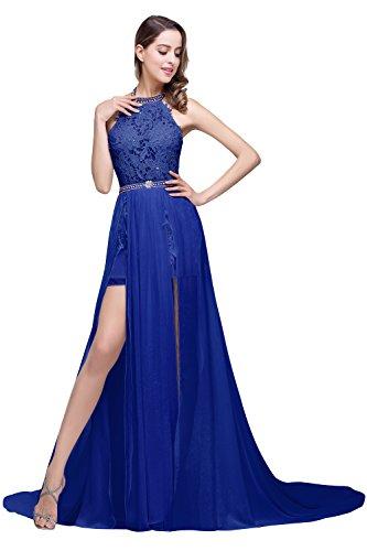 c13cd7b930e Babyonline Summer Beach Wedding Gowns for Bride 2016 White Halter Prom  Dresses - Buy Online in UAE.