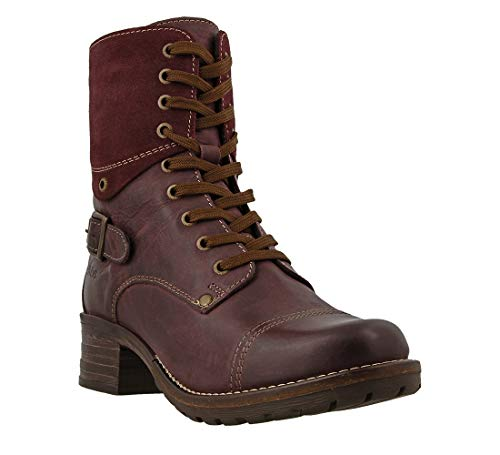 Taos Footwear Women's Crave Bourdeaux Boot 7-7.5 M US