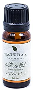 Natural Acres Neroli Essential Oil 100% Pure Therapeutic Grade Neroli Oil for Aromatherapy, Healthy Skin, Massage and Relaxation