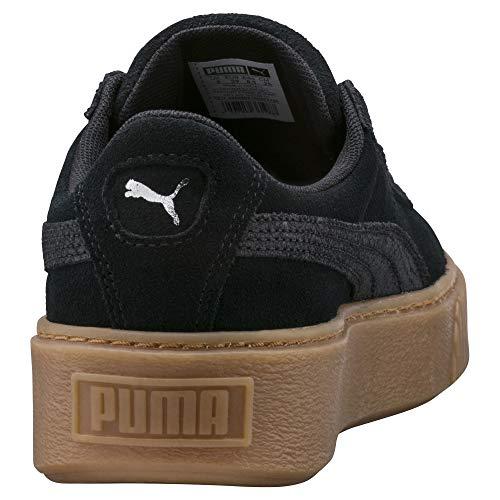 Zapatillas Noir Suede Animal Platform Mujer Puma para CtqYqxw