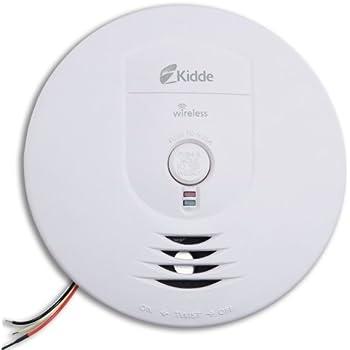 Kidde RF-SM-AC Hardwire Wireless Interconnect Smoke Alarm with Battery Backup