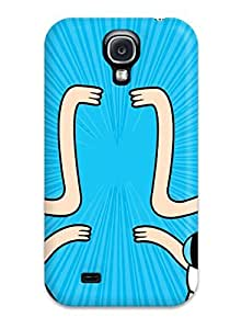 High Quality Shock Absorbing Case For Galaxy S4-adventure Time