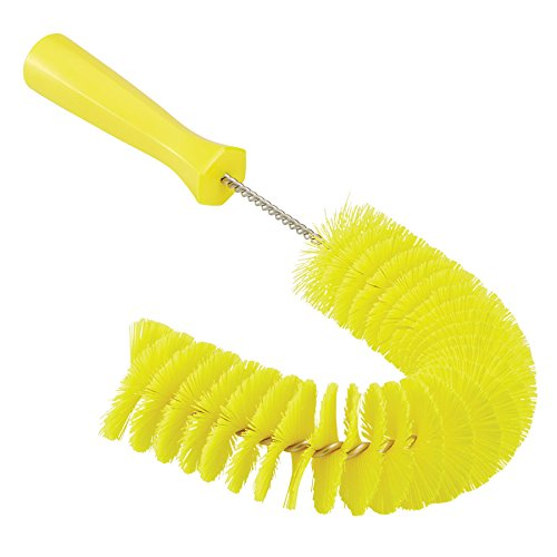 Vikan 53726 Hook Brush - Medium, Yellow Remco Products