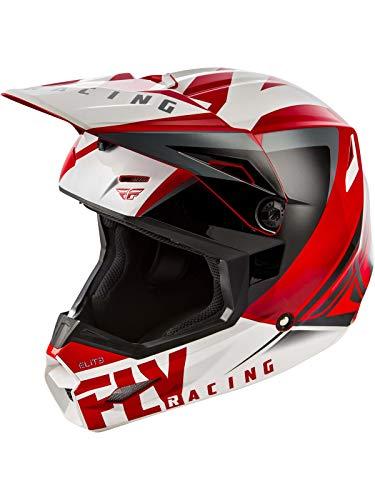 Red/Black Sz L Fly Racing Elite Vigilant - Fly Helmet Racing