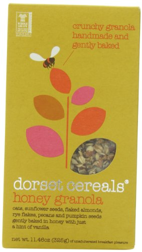 Dorset Cereals Honey Granola, 11.46-ounces (Pack of 5) by Dorset Cereals