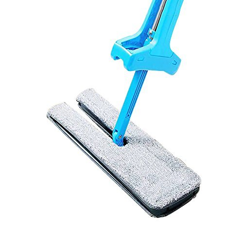 Haerbin Lazy Mop Double Sided Dry Microfiber 360 Spin Automatic Self Wringing 36cm Cloth Mop For Wall,Floor And Room