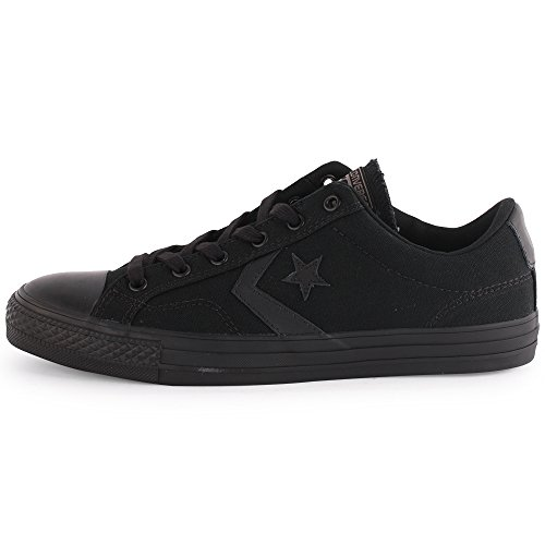 Converse Womens Star Player Ox Textile Trainer Nero