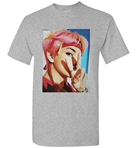 The Incredible BTS Kim Taehyung V Idol T-Shirt RM Jin Suga J-Hope Jimin V Jungkook -