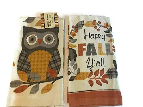Ritz Plaid Owl Warm & Happy Fall Y