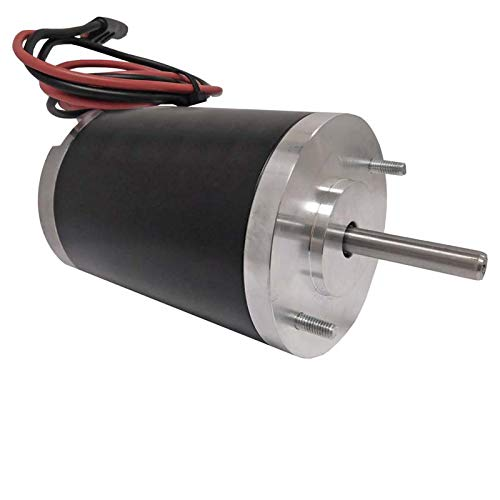 New Motor For Year 2000 Buyers Salt Spreader 12V 2 Wire connection D Shaft 3000966 ()