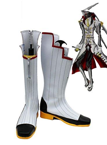 Shin Megami Tensei Persona 4 Izanagi Van De Dwaas Arcanum Cosplay Schoenen Laarzen Op Maat Gemaakt