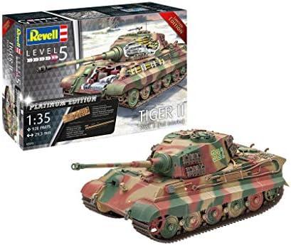 B REVELL Tiger II Ausf Full Interior 1:35 Tank Model Kit 03275