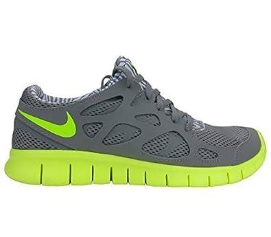 Nike Free Run + 2 Herren Schuhe Schwarz Gelb Günstig kaufen