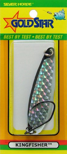 Silver Horde Goldstar Kingfisher #3 Salmon Spoons