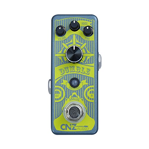 CNZ Audio Dumble - Guitar Effects Pedal Boost Treble Booster Effect Pedal