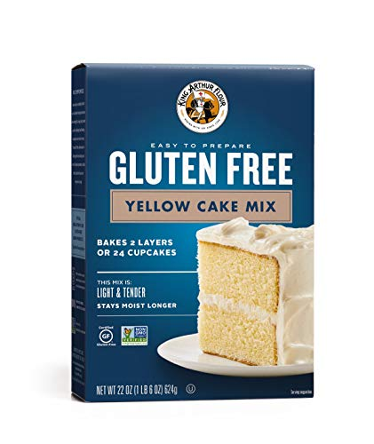 King Arthur Flour, Yellow Cake Mix, Gluten Free, 22 Ounce