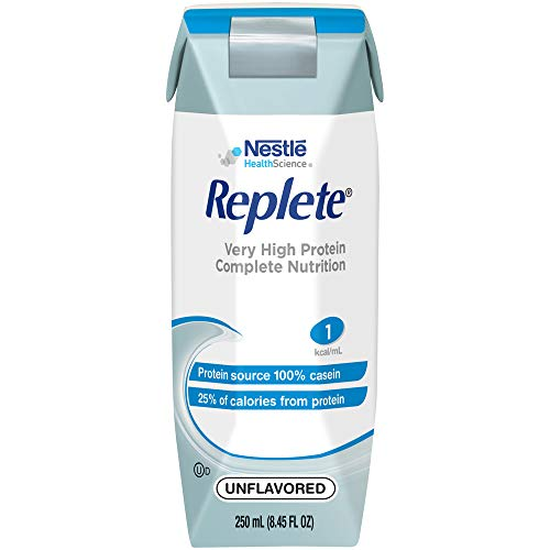 Replete Very High Protein Complete Nutrition Unflavored 8.45 Fl Oz, 24Count