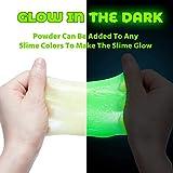 Ohuhu Glow in The Dark Slime Kit for Girls Boys, 86