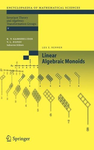 By Lex Renner - Linear Algebraic Monoids (Encyclopaedia of Mathematical Sciences) (2005) (2005-05-14) [Hardcover] PDF