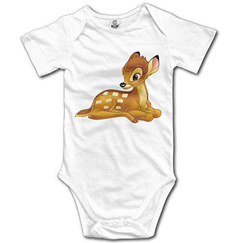 Bambi Funny For Jumpsuit Romper Climbing Clothes - White ()
