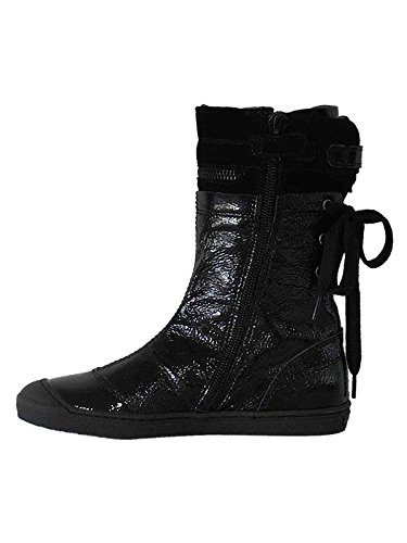 BOOTS VERNIS NOIR BANA AND CO 24862 T28