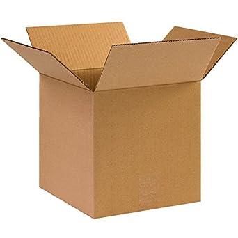 Cajas rápido bf101010 caja cubo de cartón, 10
