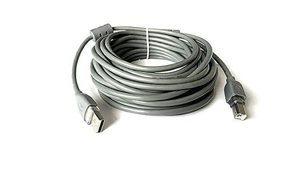 Cable USB 2.0 a/b macho Cable alargador para impresora 10 metros ...