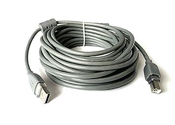 Cable USB 2.0 a/b macho Cable alargador para impresora 10 ...
