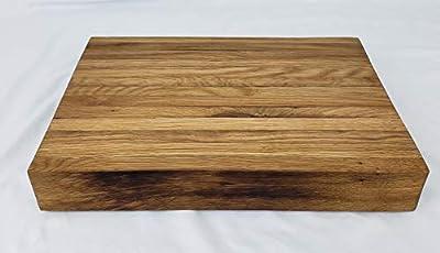 Bentlee Block Reclaimed Bourbon Barrel Cutting Board White Oak