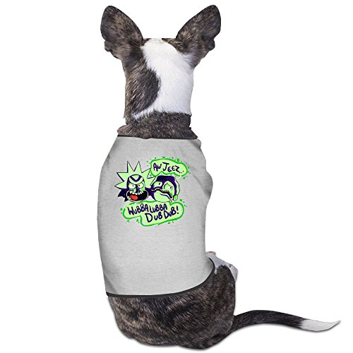 Toyou Rick And Morty Vintage T-Shirt For Doggy S (Black Pugs In Costumes)