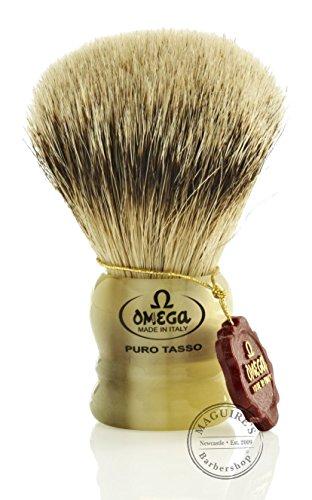 Omega Short Silvertip Badger Shaving product image