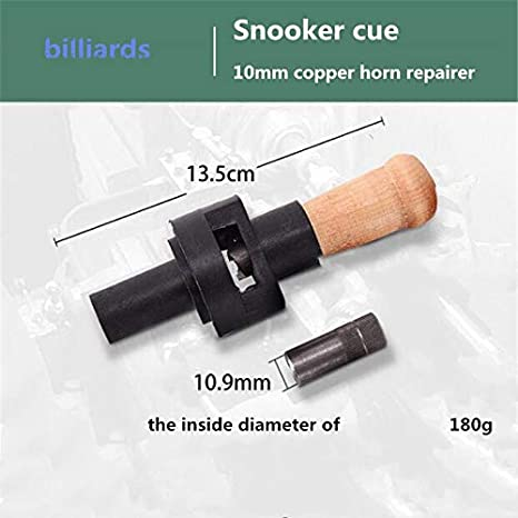 Aoile Snooker Cue Tip Herramienta de fijaci/ón de Alta Resistencia para Accesorios de Billar con Punta de 9 mm 10 mm