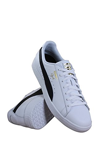 prices cheap online PUMA Select Men's Clyde Sneakers Puma White-puma Black-puma Team Gold Manchester cheap online cheap shop for prices for sale free shipping low cost tVYh7XXRl