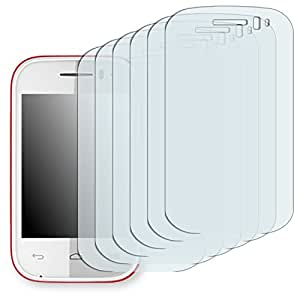6x Golebo Semi-Matt protectores de pantalla para Alcatel One Touch Pop Fit - (efecto antirreflectante, montaje muy fácil, removible sin residuos)