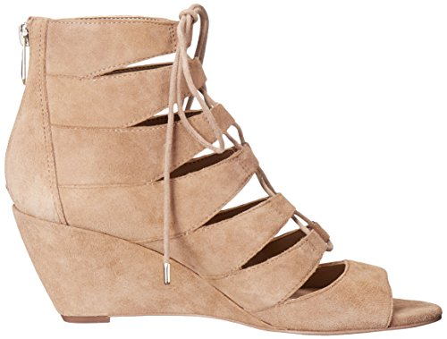 Sam Edelman Womens Santina Wedge Sandal Oatmeal