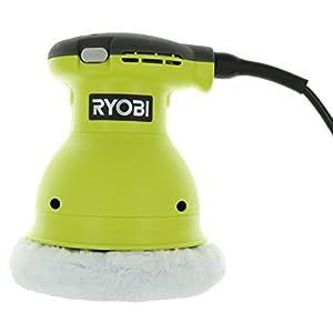 Ryobi RB61G 6 Inch Corded 120 Volt AC, .5 Amp 4,800 OPM Swirl-Free Orbital Buffer