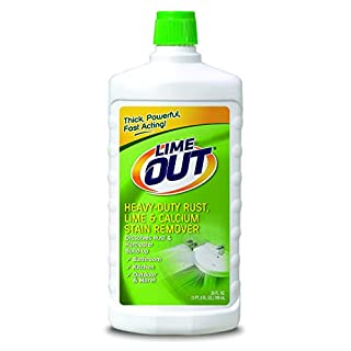Lime OUT Heavy-Duty Rust, Lime & Calcium Stain Remover, Multi Purpose Cleaner, 24 Ounce,