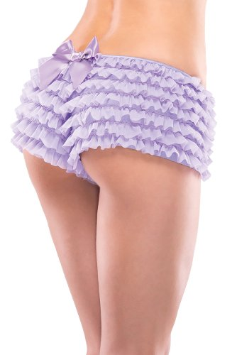 557e4648ffa Coquette Women s Ruffled Rhumba Booty Short - Import It All