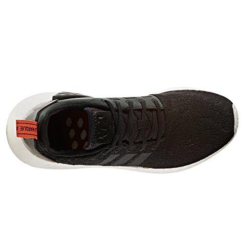 adidas Originals NMD_R2 Sneaker tecnology Boost Scarpe da Uomo. CG3384, BY9314, BY9915, Negra/Cosfut