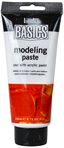- Liquitex BASICS Modeling Paste, 200ml