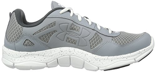 Under Armour Micro G Engage Bl H 2, Scarpe da Corsa Uomo Grigio (Steel)