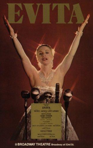 Evita Broadway Poster - Style A