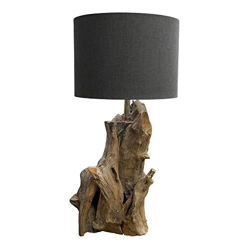 teca de raíz maciza lámpara pie Madera de Dasmöbelwerk AL54Rj