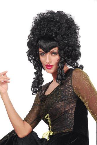 [Black Beehive Vampiress Wig] (Black Beehive Wig)
