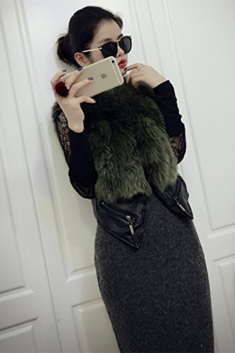 Generic Real_fox_ fur _fur_ Korean Women girl autumn winter fashion _genuine_fox_ fur vest fur coat Women girl _Discounted