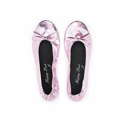 Happy Feet Ladies Fold up Shoes uvBwa