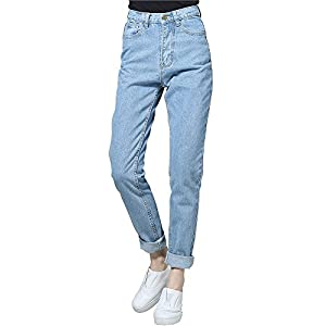 cunlin High Waist Jeans for Women Denim Pants Mom Jeans High Waisted Jeans