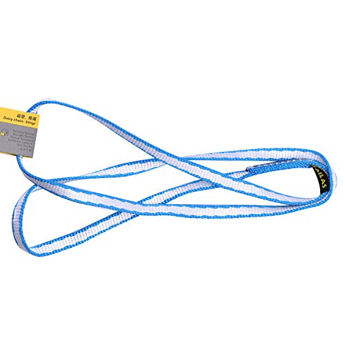 KAILAS Dyneema Ultra-Light Sling for Climbing, Rescue, Work at Height (Blue, 80cm)