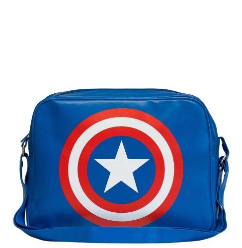 Design Originale A Marvel Licenza Su America Captain Borsa Concesso Logoshirt Comics Tracolla nqSEUY0A