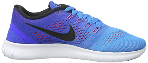 Nike Glow Mehrfarbig Grün Free Blue RN Herren Blue Racer Black Gymnastikschuhe nrZ10Xgrqw